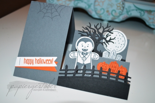 Halloween Side Step Card
